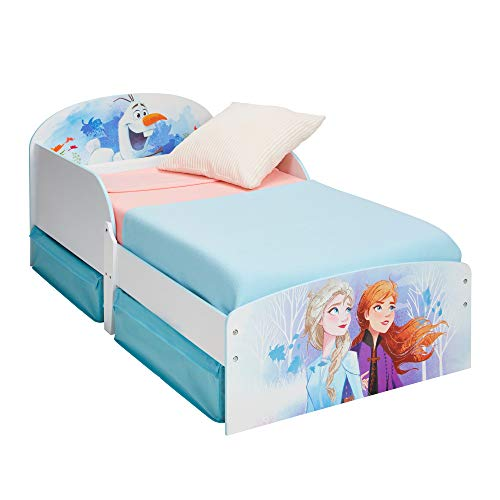 Frozen Toddler Bed with Storage Drawers, Single