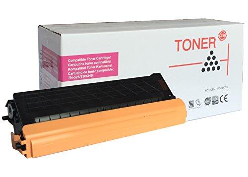 PREMIUM TONER - TN326M - 336M - 346M - TONER MAGENTA - 3.500 seiten - für : Brother HL-L8250CDN-L8350CDW-L8350CDWT, MFC-L8600CDW-L8650CDW-L8850CDW, DCP-L8400CDN-L8450CDW.