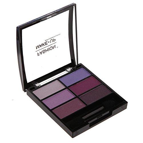 Fard Ombre à Paupières - 6 Couleurs - Dégradé de Violet - Maquillage Yeux