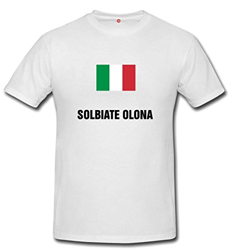 T-shirt Solbiate olona bianco
