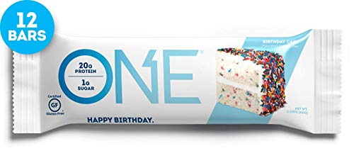 OhYeah! Nutrition One Bar Birthday Cake, 12 Count by Oh Yeah Nutrition