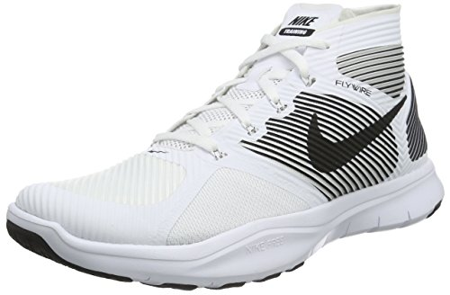 Nike Free Train Instinct, Chaussures de Fitness Homme Multicolore (White/Black)