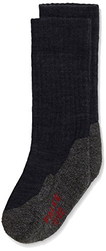 FALKE Unisex - Kinder Socken 10450 Active Warm SO, Gr. 35/38,Blau(marine 6120)