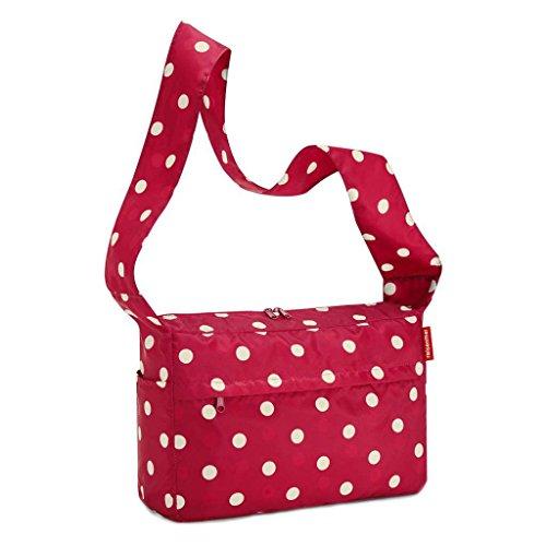 Reisenthel, Borsa a spalla donna Wool Design medium Ruby Dots