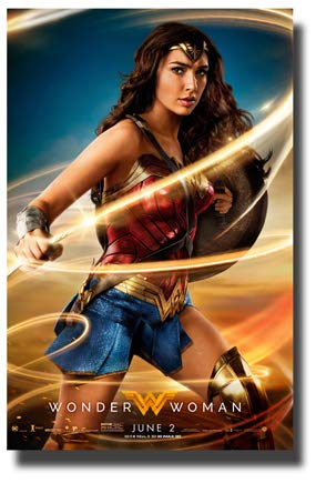 Wonder Woman Poster Film Promo 27,9x 43,2cm Peitsche - Wonder Woman-poster