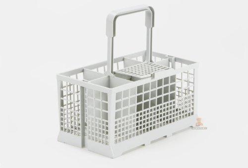 DREHFLEX® - Besteckkorb Universal passend für viele Spülmaschinen in 60cm Breite - Maße: 240 x 136mm