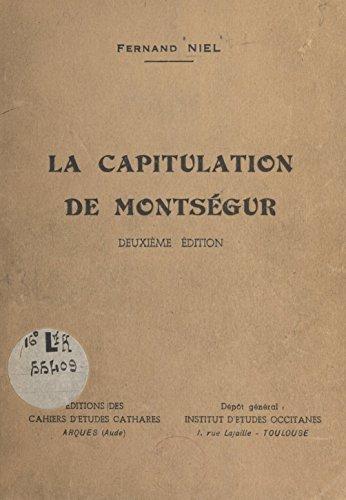 La capitulation de Montségur par Fernand Niel