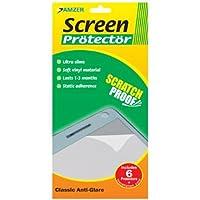 Amzer Anti-glare Screen Protector for Motorola Rokr Z6m - Pack of 6