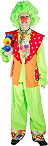 Costume clown pipo taille 128 cm 5/7 ans