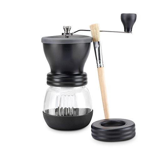 Sweese Manuelle Kaffeemühle, Keramikmahlwerk mit Handkaffeemühle