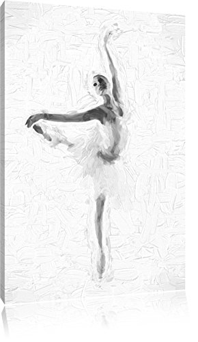 Estetica Ballerina effetto pennello, formato: 100x70 su tela, XXL enormi immagini completamente Pagina con la barella, stampa d'arte sul murale con telaio, più economico di pittura o un dipinto a olio, non un manifesto o un banner,
