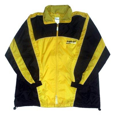 All4you-sportswear Veste de Pluie, Jaune/Noir, Taille lkid (128)