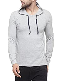 Ben Martin Full sleeve Men's cotton Hooded T-shirt