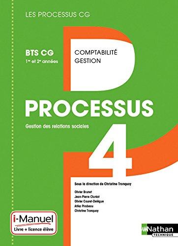Processus 4 BTS CG 1re et 2e année
