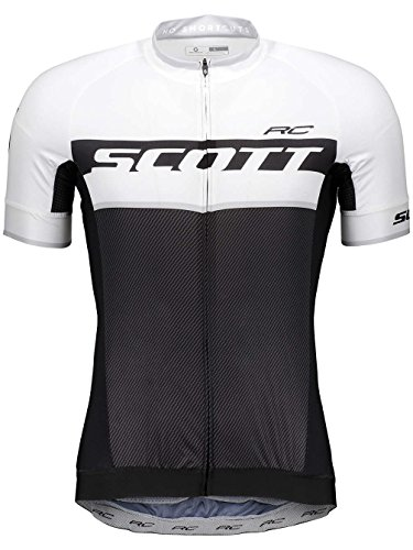 Scott RC Pro Fahrrad Trikot kurz schwarz/weiß 2018: Größe: XL (54/56)