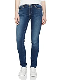 Wrangler Slim Authentic Blue, Jeans Femme