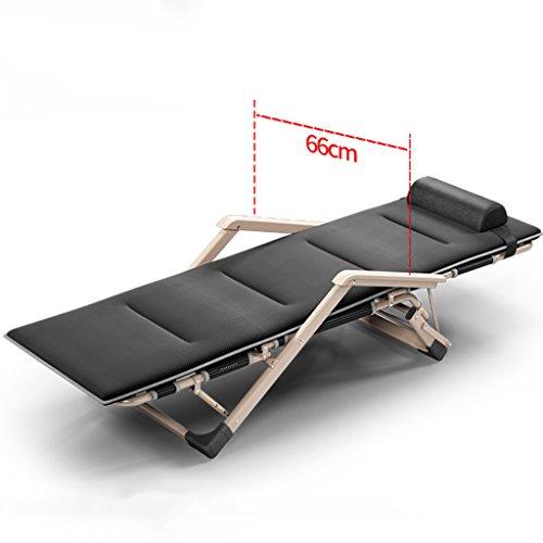 Letto pieghevole singolo semplice pieghevole Lounger Nap salone ufficio Letti