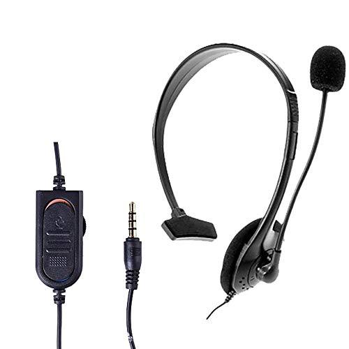 Gaming-Headset mit Mikrofon für PS4-Spiele