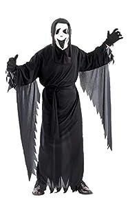 Ciao-Coatume Ghost nero, taglia unica adulto Disfraces, color negro, (62024)