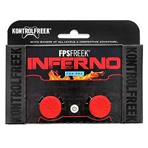 KontrolFreek FPS Inferno PS4Zubehör, Controller, Rot