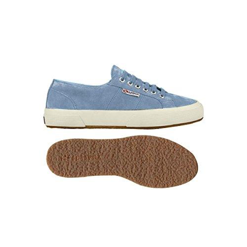 Superga 2750- SUEU S003SR0 Unisex - Erwachsene Fashion Sneakers Türkis (Avio 872)