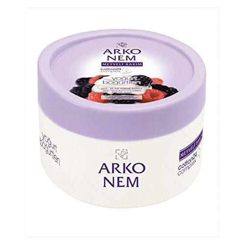 ARKO Men Yoghurt And Blackberry – Crema facial y cuerpo (300 ml)