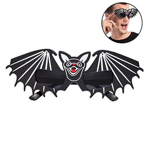 (Zoylink Party Brillen Bat Form Kostüm Brille für Halloween)