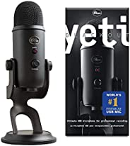 Blue Microphones Yeti Professional Multi-Pattern USB Mic for Recording and Streaming Microfono USB per Registr