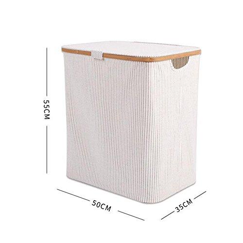 Vêtements sales panier Avec couverture Tissu imperméable Panier à linge Panier de rangement, 2 sortes de styles disponibles ( Couleur : B )
