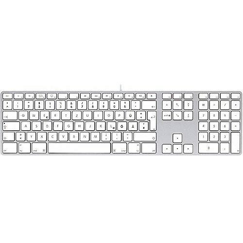 LMP KB-1243 kabelgebundene USB Tastatur mit Zahlenblock