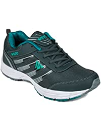 Asian M-05 Grey Green Running Shoes,Training Shoes,Gym Shoes,Walking Shoes,Phylon Shoes For Men UK-7