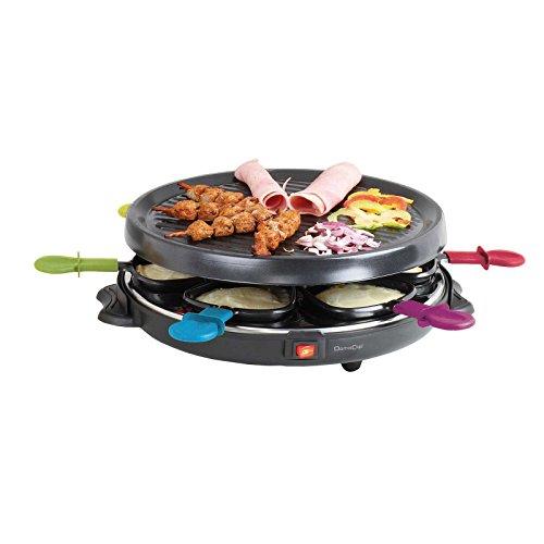 Raclette für 6 Personen Elektrogrill Große...