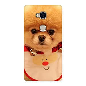 Special Cutest Pup Multicolor Back Case Cover for Huawei Honor 5X