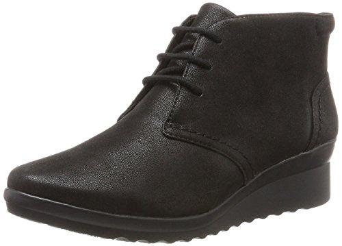 Clarks Ladies Caddell Hop High Sneaker Nero (nero)