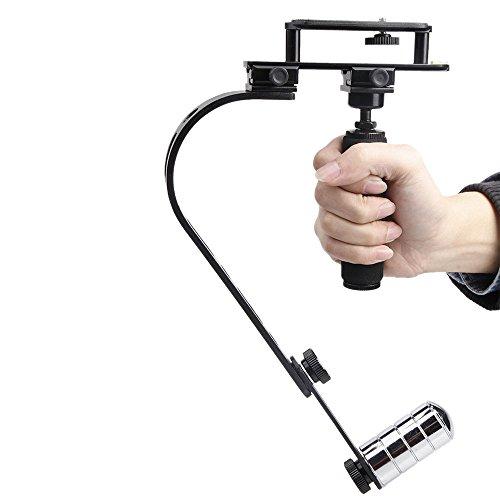 Andoer Mini Video Handheld Stabilizzatore Steadycam Steadicam per Canon Nikon Sony Pentax Digital DSLR Videocamera DV