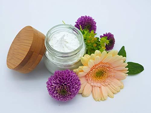 Deocreme Blütenfrische, ohne Aluminium und Konservierungsstoffe, plastikfrei, vegan, ohne Palmöl, wirksames Deo von kleine Auszeit Manufaktur