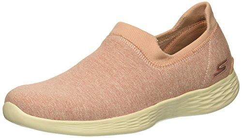 Skechers You Define-Perfection, Zapatillas sin Cordones para Mujer, Rosa (Light Pink Ltpk), 39.5 EU