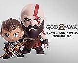 Gaming Heads God of War - Pack 2 Figurines Kratos & Atreus 7 - 9 cm
