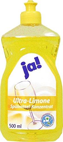 Geschirrspülmittel 0,5 Liter Ultra Limone ultra ergiebig -