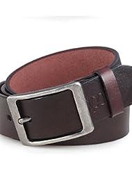AQAQ Hombre Cuero Sintético Cinturón De Cintura Vintage / Fiesta / Trabajo / Casual Todas Las Temporadas , Brown , Xl