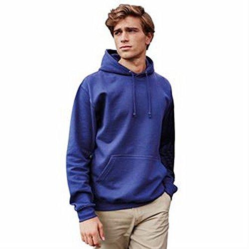 hoodie universitari Rosso fuoco*†