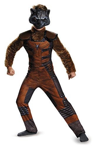 Drax Guardians Galaxy Of Kostüm The - Guardians of the Galaxy Rocket Raccoon Deluxe Child Kostüm (Small)