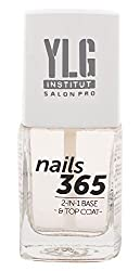 YLG Nails365 2 In 1 Base & Top Coat, Nail Care, 9ml