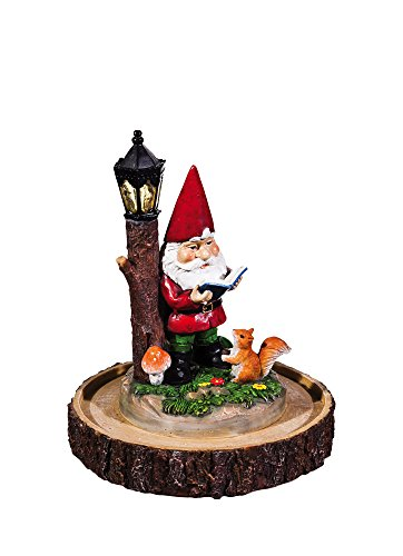 new-creative-reading-gnome-lighted-garden-statue