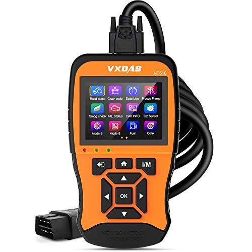 VXDAS NT510 Escáner OBD2 profesional Lector códigos