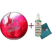 Bowling Ball–Les débutants et d'écartement Ballon–Maxim Peppermint 10lbs jusqu'à 15lbs + Nettoyant et serviette–Pour Homme et Femme–droitiers et gauchers