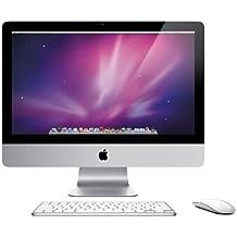 Apple iMac MC508D/A 54.6 cm (21.5 Zoll) Desktop-PC (Intel Core i3 540, 3GHz, 4GB RAM, 500GB HDD, ATI HD 4670, DVD, Mac OS)