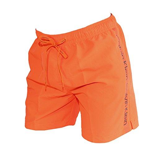 Calvin Klein Herren Badeshort, 10323_40820, Orange, 10323_40820 XL