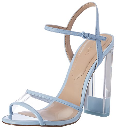 Aldo Camylla, Sandales Bride cheville femme Bleu (6 Medium Blue)