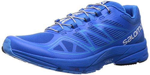 Stretch-union (Salomon Herren L37916800 Traillaufschuhe, Blau (Union Blue/Union Blue/Process Blue), 42 EU)